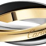 ブラックセラミックで個性を演出するホリデーシーズン限定「トリニティ ドゥ カルティエ リング」 CARTIER