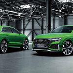 アウディのフラッグシップSUV「Q8」によりスポーティなRSモデルを追加 Audi