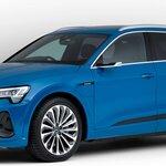 アウディの電気自動車e-tronシリーズにバッテリー容量71kWhの「50」が追加 Audi
