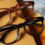 使用済みの500mlペットボトル約2本が、ひとつの眼鏡フレームに |PLAGLA