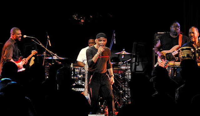 COTTON CLUB|Maze Featuring Frankie Beverly @ COTTON CLUB, September 22, 2009