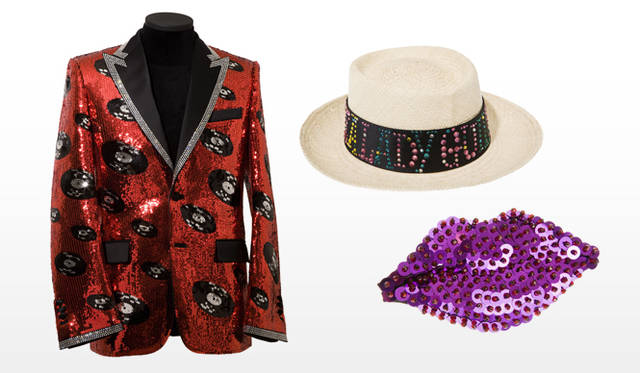 祐真朋樹|CRYSTALLIZED&#8482;-Swarovski Elements</br>Wacko Maria|JACKET、HAT、 KISS BROACH