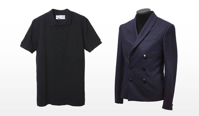 祐真朋樹|CRYSTALLIZED&#8482;-Swarovski Elements</br>Kitsun&eacute;|POLO SHIRT 、DOUBLE BREASTED JACKET