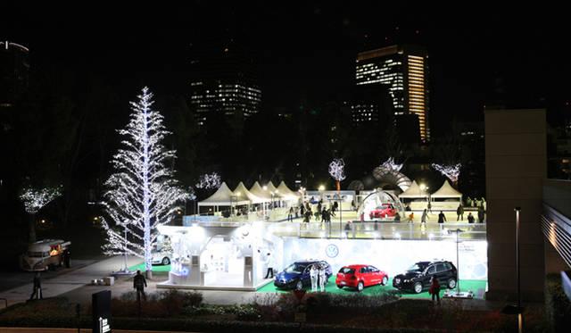 Volkswagen|フォルクスワーゲン 「フォルクスワーゲン スケートリンク in 東京ミッドタウン」全景