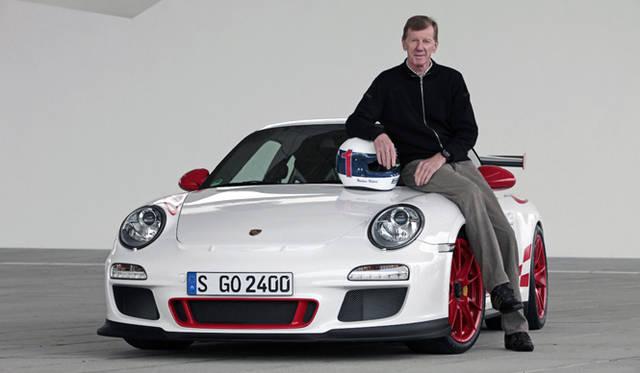 <em>PORSCHE 911GT3 R|ポルシェ 911GT3 R</em> 911の開発を手がける伝説のラリードライバー ワルター・ロールとともに