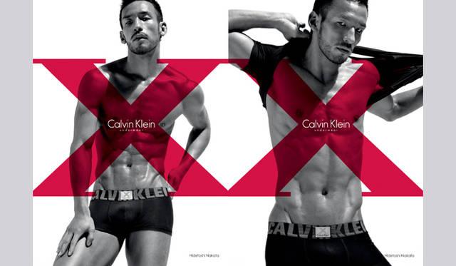 Calvin Klein Underwear サッカー元日本代表 中田英寿×カルバン・クライン アンダーウェア X   ©Mikael Janssen