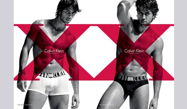 Calvin Klein Underwear スペインのテニス選手 フェルナンド・ベルダスコ×カルバン・クライン アンダーウェア X   ©Mikael Janssen