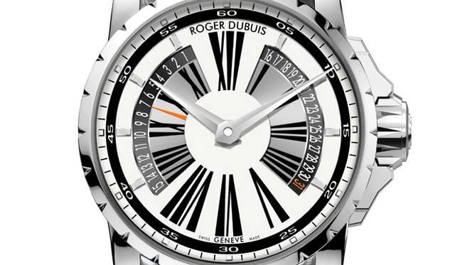 Roger Dubuis Excalibur RD14B Bi-retrograde Jumping Date||ロジェ・デュブイ エクスカリバー バイレトログラード・ジャンピングカレンダー