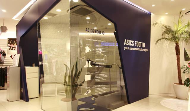 <b>asics|アシックス</b> アシックスストア原宿 ASICS FOOT IDスペ―ス
