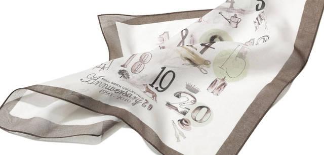20周年グラフィックプリントハンカチ3150円