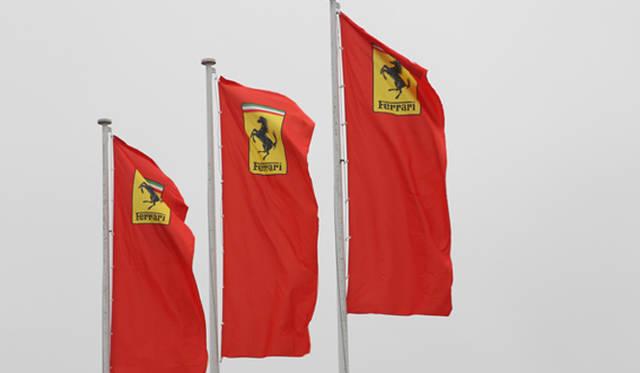 カヴァッリーノ・ランパンテの旗