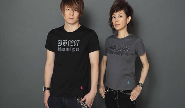 戸田恵子 「B・G brand」 新作Tシャツ