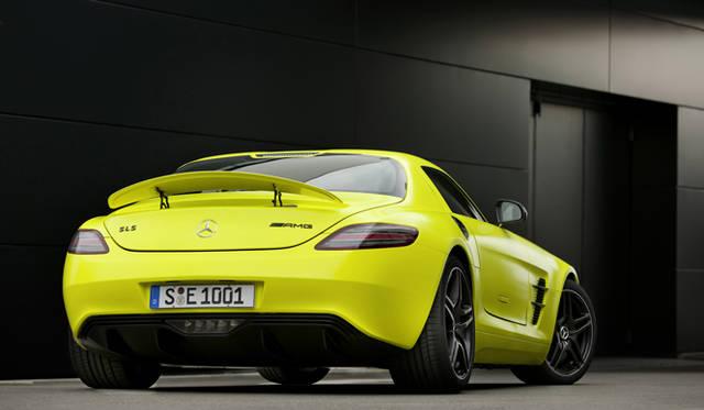 <b>Mercedes Benz|メルセデス SLS AMG<br/>リアマスク全景</b>(リアウイング あり)