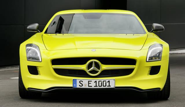 <b>Mercedes Benz|メルセデス SLS AMG<br></b>フロントマスク全景