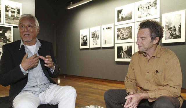 <strong>『3人展 ―Soul Brothers―』</strong> キャノンギャラリー銀座にて立木義浩氏とベルナール・マチュシエール氏