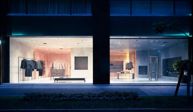 <strong>特集|OPENERS的ニッポンの女性建築家 乾久美子</strong> 『ヨーガンレール丸の内』 (2003年) 写真=阿野太一