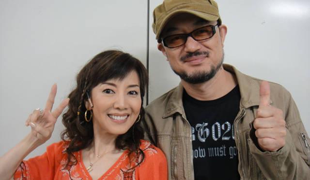 <strong>戸田恵子</strong>|『今の私をカバンにつめて』大阪千秋楽、無事終了! 左から、戸田恵子、演出家 G2さん。