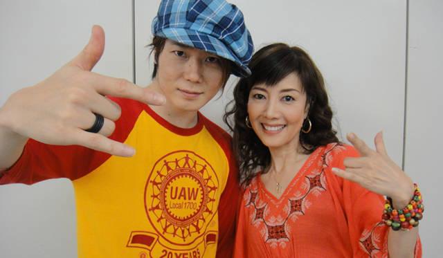 <strong>戸田恵子</strong>|『今の私をカバンにつめて』大阪千秋楽、無事終了! おなじみ、植木 豪くんと。