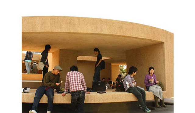<strong>特集|OPENERS的ニッポンの女性建築家 大西麻貴</strong> 『地層のフォリー』 (2008年・百田有希、小川勇樹、熊澤智広、南方雄貴と共同設計)