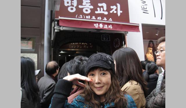 <strong>戸田恵子|社員旅行 in ソウル!</strong> タイムアップ、ということで明洞餃子にはありつけず……。次回必ずリベンジしたいと思います!