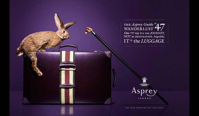 <strong>Asprey|アスプレイ</strong> あたらしいイメージビジュアル。動物を起用し、ユーモアたっぷり。
