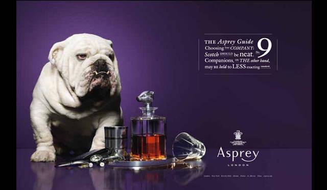 <strong>Asprey|アスプレイ</strong> ユーモアで斬新なイメージビジュアル。ブルース・ホックシーマ氏がディレクションした。