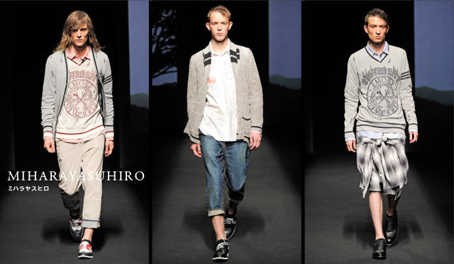 <strong>MIHARAYASUHRIO|ミハラヤスヒロ</strong> 2011年春夏コレクション