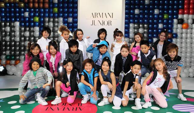 <strong>GIORGIO ARMANI ジョルジオ アルマーニ</strong> アルマーニ ジュニア&ベビーライン、2011年春直営店オープン!