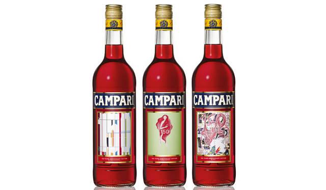 <strong>CAMPARI|カンパリ</strong> カンパリカレンダー2011 カンパリ誕生150周年記念ラベルボトル サントリーオンラインショップ「E-liquor(http://e-liquor.suntory.co.jp/)」で発売中