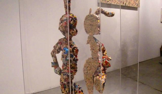 <strong>マシュー的、「Art Basel Miami 2010」レポート</strong> 日本の 「THREE」 の作品。