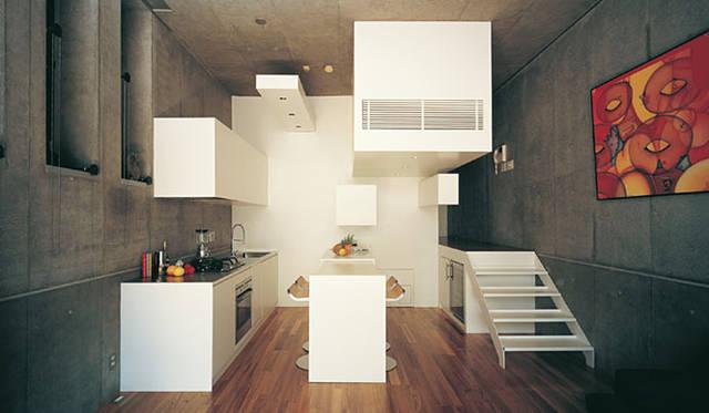 <strong>特集|OPENERS的ニッポンの女性建築家 成瀬友梨</strong> ROOM101(2006年) Photo by Masao Nishikawa