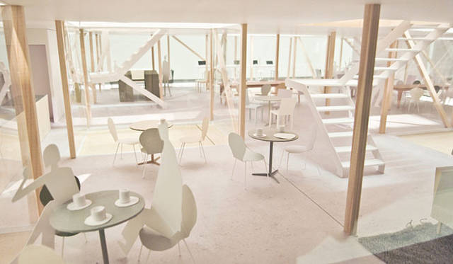 <strong>特集|OPENERS的ニッポンの女性建築家 成瀬友梨</strong> 「集まって住む、を考えなおす」(2010年) Photo by Naruse Inokuma Architects