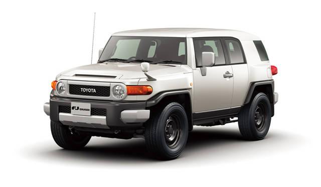 <strong>TOYOTA FJ CRUISER|トヨタ FJクルーザー</strong> ボディカラー (ホワイト)
