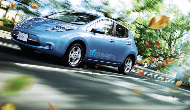 <strong>NISSAN LEAF|日産 リーフ</strong>