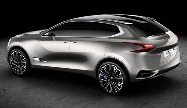 <strong>Peugeot SXC Crossover Concept|プジョー SXC クロスオーバー コンセプト</strong>