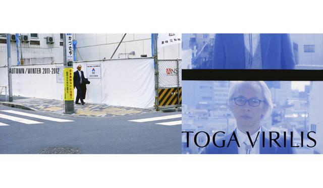 <strong>TOGA VIRILIS|トーガ ビリリース</strong> 栗野宏文氏がイメージビジュアルにを起用されているのも話題。