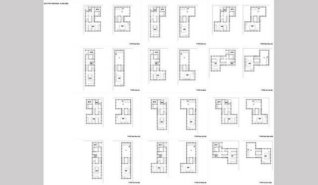 <strong>特集|OPENERS的ニッポンの若手建築家 PARTII 吉村靖孝</strong> 『C.C.ハウス図面』(2006年)資料提供:吉村靖孝建築設計事務所