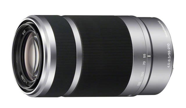 <strong>SONY α|小型ミラーレス一眼「NEX」シリーズに新機種が登場!</strong> E 55-210mm F4.5-6.3 OSS