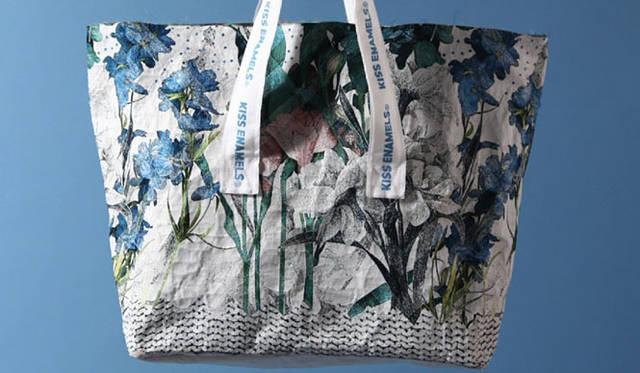 <strong>enamel. エナメル</strong> オリジナルのゴブラン織り。3万5700円(LLサイズ)
