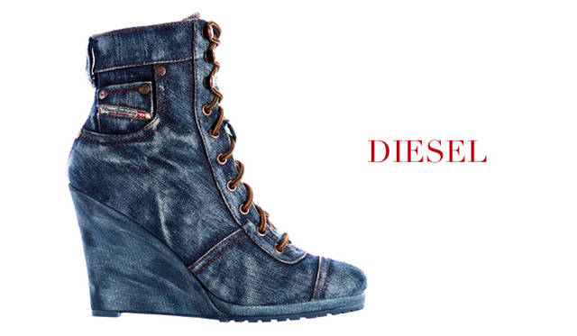 "<strong>特集|2011-12年秋冬トレンドシューズはこれ! Chapter 02:Lace Up<br /><br />DIESEL|ディーゼル</strong> シューズ「C'EST LA VIE」 [11cm] 3万2550円 (ディーゼル/ディーゼル ジャパン <span class=""text-freedialicon"">0120-551-978</span>)"
