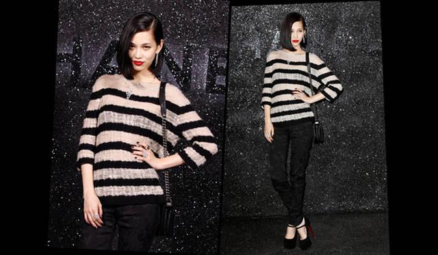 <strong>CHANEL|シャネル 2011-12年秋冬オートクチュールコレクション</strong> 女優・モデルの水原希子さん。 &copy;CHANEL