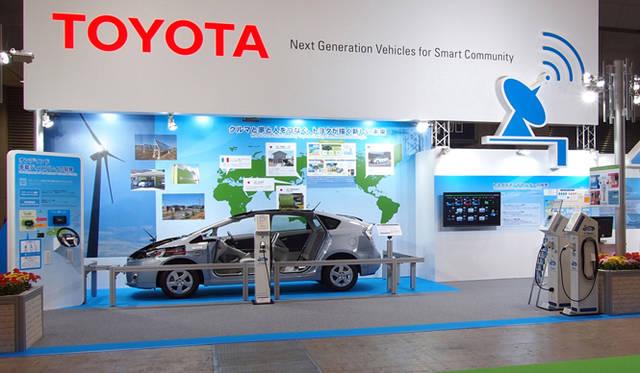 <strong>あたらしい時代づくりに取り組むひとと企業──トヨタ自動車編</strong> スマートグリッド展