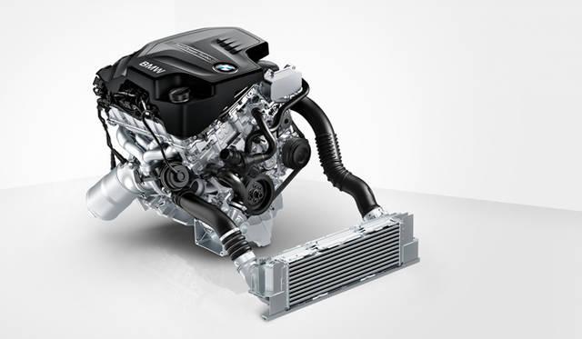 <strong>BMW 3Series|ビー・エム・ダブリュー 3シリーズ</strong> 2.0リッター直列4気筒DOHCターボチャージャーつきエンジン