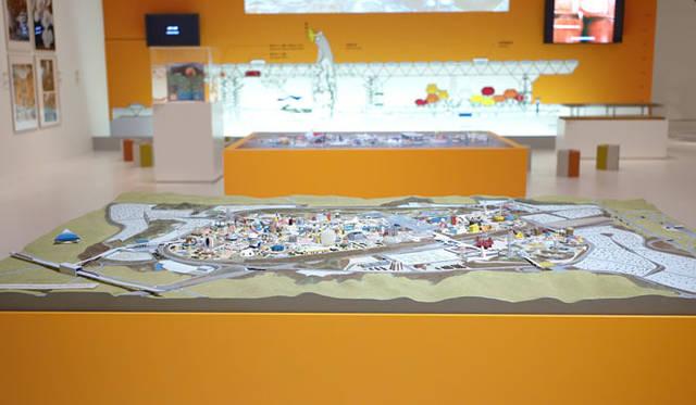 <strong>「メタボリズムの未来都市:戦後日本・今甦る復興の夢とビジョン」展</strong> 「基幹施設マスターデザイン 丹下健三、西山夘三」