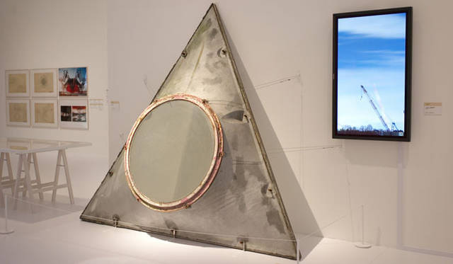 <strong>「メタボリズムの未来都市:戦後日本・今甦る復興の夢とビジョン」展</strong> 「エキスポタワー [カプセル部分] ) 菊竹清訓」(1970年竣工)」