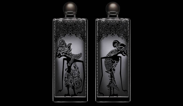 <strong>SERGE LUTENS|セルジュ・ルタンス</strong> 「ENGRAVED BOTTLE 2011」美しい手彫り模様がほどこされた限定ボトル。世界限定15セットのうち日本では3セットのみ販売。1セット7万5600円