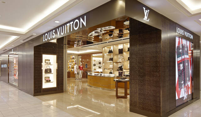 <strong>LOUIS VUITTON|ルイ・ヴィトン</strong> 小田急新宿店の外観。 &copy;LOUIS VUITTON