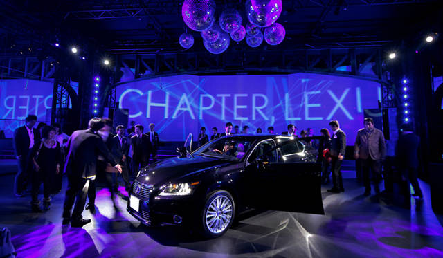 <strong>LEXUS GS|レクサス GS</strong> 「レクサス スピンドル ナイト」会場より