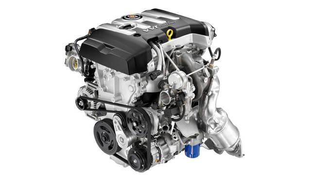<strong>キャデラック ATS Cadillac ATS</strong> 新型2.0リッター4気筒ターボエンジン