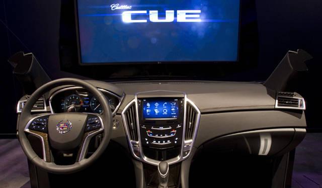 <strong>キャデラック ATS Cadillac ATS</strong> CUE(キャデラック・ユーザー・エクスペリエンス)